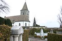 Kilchberg ZH: Kirche und Friedhof