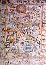 Feiertags-Christus Rhäzüns ca. 1370