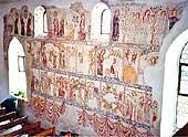 Galluskapelle Oberstammheim: 1320, Fresken.